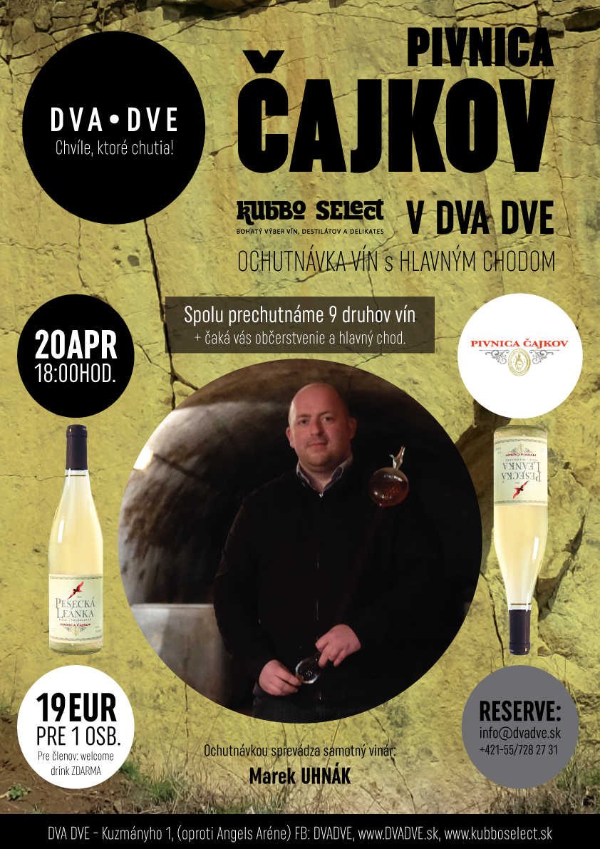 pivnica_cajkov_DVADVE_poster